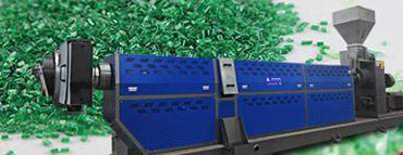 plastic extruder granulator