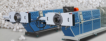 tow stage granulating line