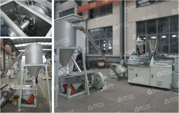 Air-Cooling Die-Face Granulating Line