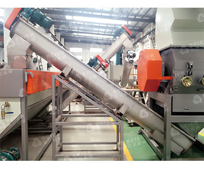 PE Bottle Recycling Line