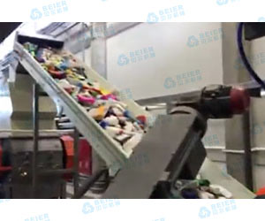 500kg Milk Bottle Recycling Line