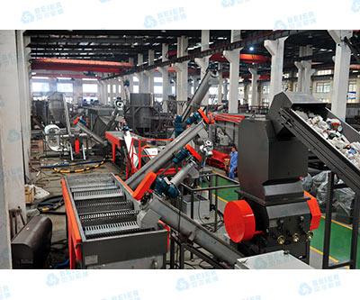 500kg/h-PE-beverage-bottle-washing-line