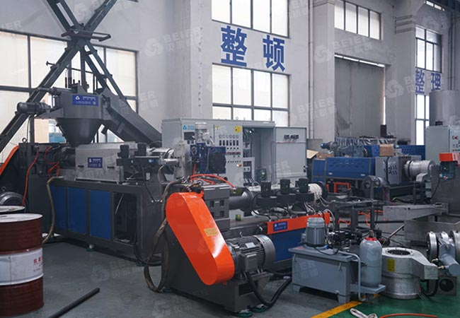 plastic-flake-pelletizer-machine