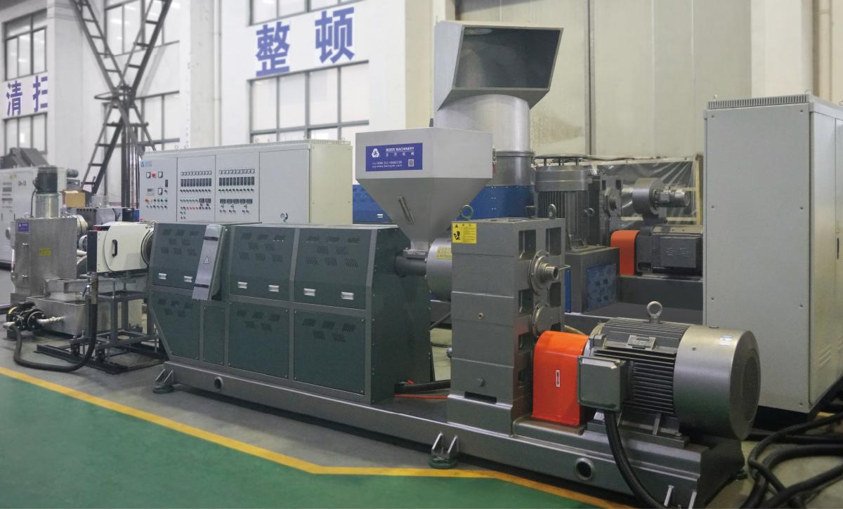 Plastic Flake Pelletizing Production Line