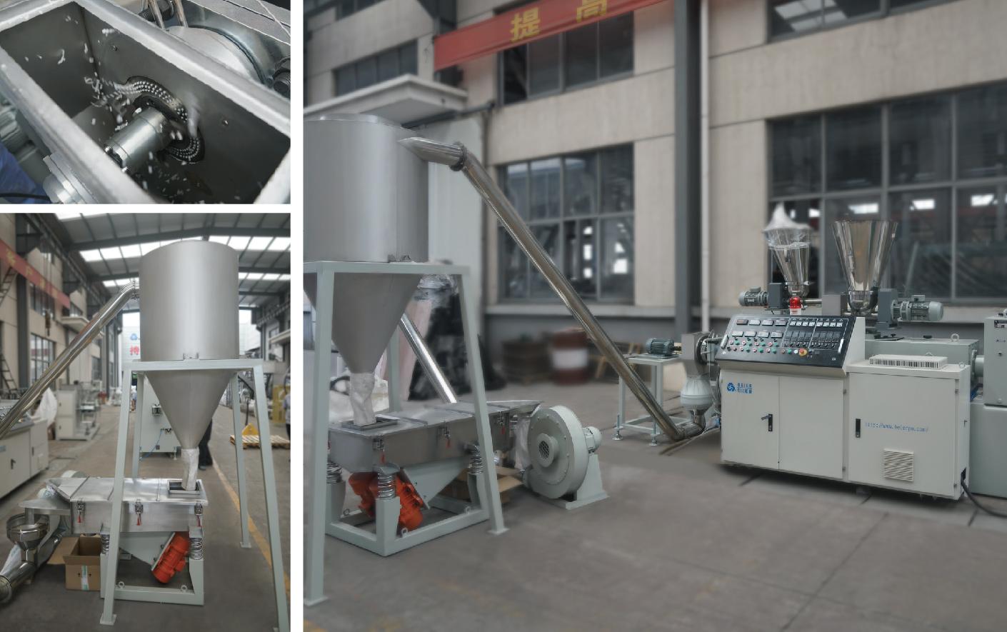 Air-cooling Die-face Pelletizer Machine