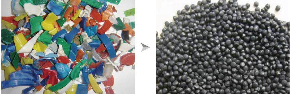 Plastic Flake Pelletizing Line