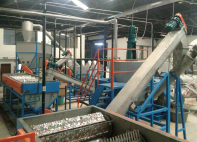PP/PE Hard Material Washing Recycling Line Details