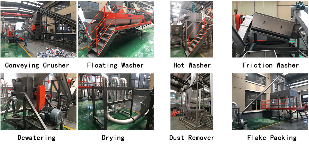 Hard Material Washing Reaycling Line Details